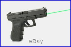 LaserMax LMS-G4-19G for Glock 19 Generation 4 Green Guide Rod Laser Sight