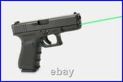 LaserMax LMS-G5-19G Rod Green Laser Sight 5mW for Glock 19 Gen 5