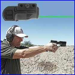 Lasercross CL105 New Magnetic Charging Internal Green Laser Sight & Flashlight