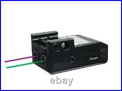 Low Profile Green and Purple Duo Laser Sights Sub Compact Pistols USB Recharge
