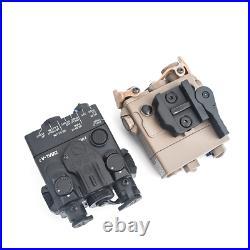 Mini Blue IR Aiming Laser Sight Hunting DBAL-A2 Weapon Light PEQ With QD Mount