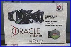 NEW Burris Optics Oracle Laser Rangefinding Archery Bow Sight 300400