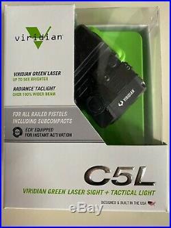 NIB Viridian C5L Green Laser Sight