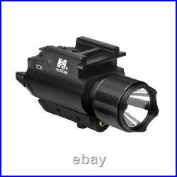 NcStar GREEN Laser Sight + LED Flashlight fits GLOCK SIG Hk S&W Ruger CZ Pistol