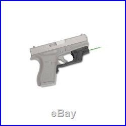 New Crimson Trace Laserguard Green Laser Sight For Glock 42 & 43 LG-443G