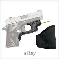 New Crimson Trace Laserguard Green Laser Sight Sig Sauer P238 & P938 LG-492G-H