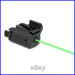 New LaserMax Spartan Green Laser Sight Picatinny-Style Rail Mount Matte SPS-G