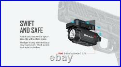 Olight Baldr Mini 600 Lumen Pistol Flashlight with Green Laser Sight