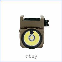 Olight Baldr Mini Tan 600 Lumen Pistol Flashlight with Green Laser Sight DHL
