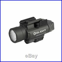 Olight Baldr Pro 1350 Lumen Pistol Flashlight with Green Laser Sight (Black)
