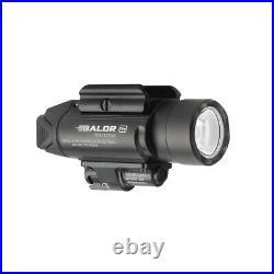 Olight Baldr Pro 1350 Lumen Pistol Flashlight with Green Laser Sight Black