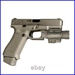 Olight Baldr Pro Desert Tan Weapon Light, Green Laser Sight & White LED, 1350 LM