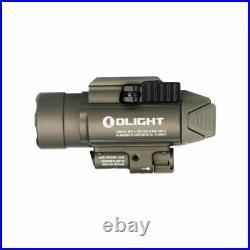 Olight Baldr Pro Desert Tan with Green Laser Sight and 1500 Lumen White LED