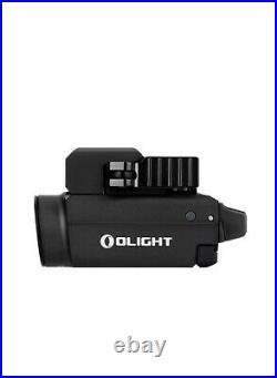 Olight Baldr S Black 800 Lumen Pistol Flashlight with Green Laser Sight