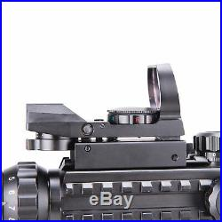 Pinty 4-12X50 Tactical Rangefinder Reticle Rifle Scope Green Laser&Dot Sight New