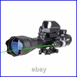 Rangefinder Toy Rifle Scope 4-16x50 Green Laser Holographic Reflex Dot Sight