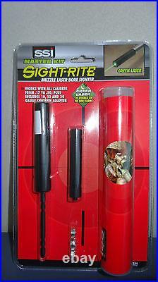 SSI Sight-Rite Green Bore Laser Master Kit (GSM) #XSI-GLBDX