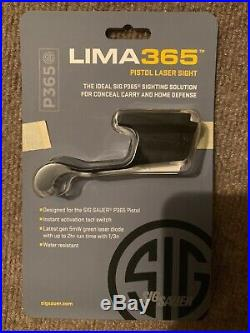 Sig Sauer LIMA365 P365 Compact Green Laser Sight SOL36502 Open Pkg
