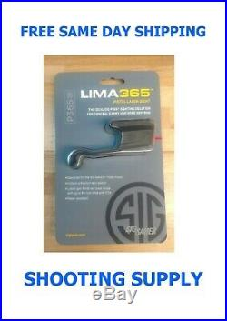 Sig Sauer LIMA365 P365 Compact Red Laser Sight SOL36501
