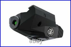 Sig Sauer Lima1 Laser Sight, Green, Handgun Rail Mount SOL11002 Laser Sights