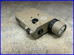 Sightmark LoPro Combo Flashlight (Visible & IR) & Green Laser Sight SM25013DE