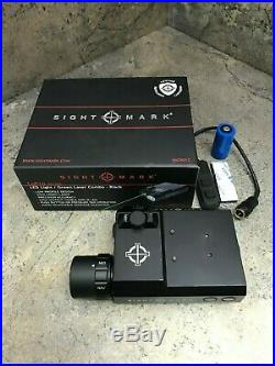Sightmark LoPro Combo Flashlight (Visible & IR) & Green Laser Sight SM25013