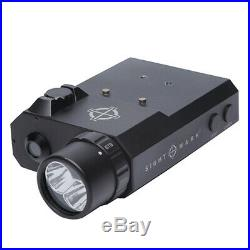 Sightmark LoPro Combo Flashlight Visible and IR and Green Laser Sight SM25013