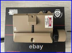 Sightmark LoPro Combo Light (Visible & IR) & GRN Laser Sight SM25013DE (LNIB)
