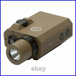 Sightmark LoPro Mini Combo Flashlight & Green Laser Sight Dark Earth SM25012DE