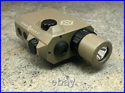 Sightmark LoPro Mini Combo Flashlight & Green Laser Sight SM25012DE Dark Earth