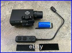 Sightmark LoPro Mini Combo Flashlight & Green Laser Sight SM25012 Black