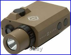 Sightmark LoPro Mini Combo Flashlight and Green Laser Sight Dark Earth