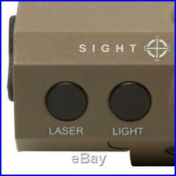 Sightmark LoPro Mini Combo Flashlight and Green Laser Sight Dark Earth SM25012