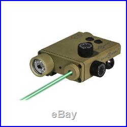 Sightmark SM25004DE Lo-Pro Green Laser Sight 220 Lumen LED Light Combo FDE