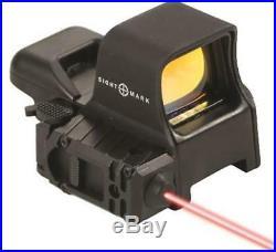 Sightmark Ultra Dual Shot Pro Spec NV Sight QD withLaser SM14003