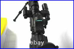 Sniper Tactical Rifle Scope Red/green Reticle Flash Light Red & Reflex Dot Sight