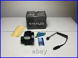 Stealth Tactical Reflex Red/Green Dot 1x33 Illuminated Halo Sight / Laser NEW