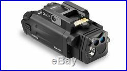 Steiner 9021 Black Dual Beam Aiming Pistol Light Green Laser Sight New