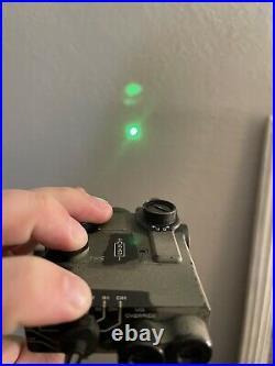 Steiner DBAL A3 Class 1/3R Civilian Visible Green/IR Laser Sight