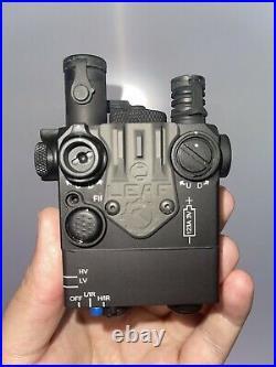 Steiner DBAL-I2 9003 IR / green lasers black WITH RAILSCALES LEAF SIGHT
