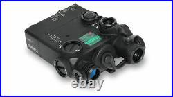 Steiner DBAL-I2 Dual-Beam Green Visible/IR Aiming Laser Sight Black 9003