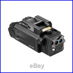 Steiner DBAL-PL Visible/IR Weaponlight Green/IR Aiming Laser Sight Black 9021