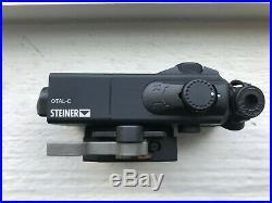 Steiner OTAL-C Offset Aiming Laser Sight Black Red Visible Laser