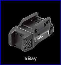 Steiner eOptics TOR Fusion 3R Green Pistol Laser Sight withWhite LED Light, 7001
