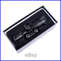 Tactical 2.5-10X40 Rifle Scope with Red Laser & Holographic Green / Red Dot Sight