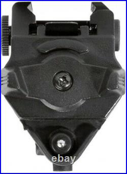Tactical Green Laser Sight Flashlight Combo Rail Mounted Compact 200 Lumen LED