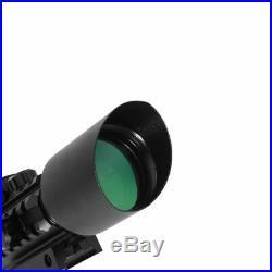 Tactical Optics Reflex Sight Riflescope Mount Red Green Dot Hunting Scope Laser