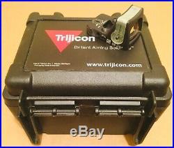 Trijicon RMR RM08G 12.9 MOA Dual-Illuminated Triangle Sight Green