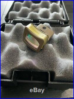 Trijicon RMR RM08 12.9 MOA Dual-Illuminated Triangle Sight Amber FDE 700258