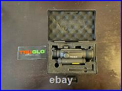 TruGlo Tru-Tec 2 MOA 30mm Red-Dot Sight With Green Laser